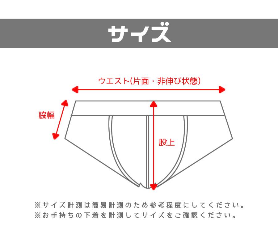 【ANQ】複雑なデザインなのにシャープに見える!多種生地デザインブリーフ!